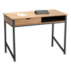 Safco Safco® Single Drawer Office Desk SAF 1950BL