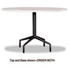 table bases: Safco® RSVP Series Standard Fixed Height Table Base Only
