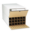 storage file boxes and moving boxes: Safco® Tube-Stor® Fiberboard Files
