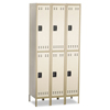 lockers: Safco® Double-Tier Lockers