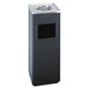Safco-outdoor-receptacles: Safco® Square Ash 'N' Trash Sandless Urn