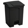Safco-ash-trash: Safco® Large Capacity Plastic Step-On Receptacle