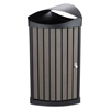 Safco-plastic-receptacles: Safco® Nook Indoor/Outdoor Receptacle