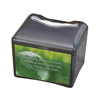San Jamar Venue Napkin Dispenser with Advertising Inset SAN H4005TBK