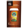 ViewAllSnacks: Starbucks® VIA™ Ready Brew Coffee