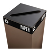 Safco Public Square® Recycling Lids for Paper SFC 2987BL