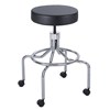 Safco Screw Lift Stool with High Base SFC 3433BL