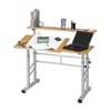 Safco: Safco - Height Adjustable Split Level Workstation