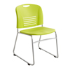 chairs & sofas: Safco - Vy™ Sled Base Stack Chair