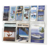 Safco Reveal™ Clear Literature Displays SFC 5605CL
