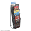 literature racks: Safco - Onyx™ Mesh Counter Display
