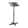 Cake Pie Covers Stands: Safco - Speaker Stand with Height and Tilt Adjustability