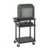 Safco Three Shelf AV Cart SFC 8933BL