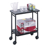 Safco Folding Office/Beverage Cart SFC 8965BL