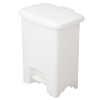 Safco-trash-receptacles: Safco - Plastic Step-On Receptacle