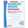 Scholastic Scholastic Vocabulary Building Card Games SHS 0439573149