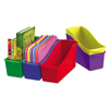 storage: Storex Interlocking Book Bins