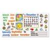 Trend TREND® Monthly Calendar (with Cling) Bulletin Board Set TEP T8302