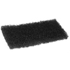 cleaning chemicals, brushes, hand wipers, sponges, squeegees: Treleoni - Black Heavy Duty Utility Pad