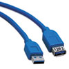 usb cables: Tripp Lite USB 3.0 Superspeed Extension Cable