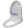 iTouchless Touch-Free Sensor Control Automatic Toilet Seat - Elongated ITO TS1EWACEA