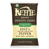Organic Salt & Fresh Ground Pepper Chips