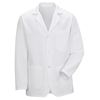 Red Kap Mens Notch Collar Lapel Counter Coat UNF 4010WH-RG-S