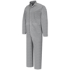 Red Kap Mens Button-Front Cotton Coverall UNF CC16HB-RG-36
