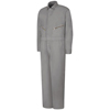 Red Kap Mens Zip-Front Cotton Coverall UNF CC18GY-LN-60