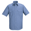 Red Kap Mens Deluxe Western Style Shirt UNF SC24LB-SSL-3XL