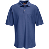 mens tees: Red Kap - Men's Performance Knit® 50/50 Blend Solid Shirt