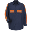 Enhanced Hi Visibility Shirts: Red Kap - Men's Enhanced Visibility Shirt