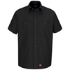 Wrangler Workwear Mens Work Shirt UNF WS20BK-SSL-XL