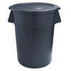 Smokers'-outpost-trash-receptacles: Round Waste Receptacle