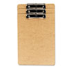 Universal Universal® Recycled Hardboard Clipboard with Low-Profile Clip UNV 05563