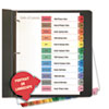Universal Universal® Table of Contents Dividers for Printers UNV 24810