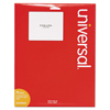 Universal Universal® White Labels UNV 80005
