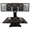 Victor Victor® DC350 High Rise™ Collection Dual Monitor Sit-Stand Desk Converter VCT DC350
