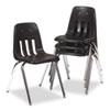 chairs & sofas: Virco® 9000 Series Plastic Stack Chair