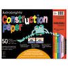 Wausau Paper Wausau Paper® Astrobrights® Construction Paper WAU 20700