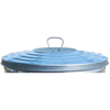Witt Industries Light Duty Galvanized Metal Lid WIT WCD32L