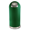 Witt Industries Push Door Dome-Top Receptacle WIT 15DTSGN