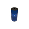 Recycling Containers: Witt Industries - 20 Gallon Stadium Series Perforated Recycling Receptacle