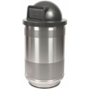 Witt Industries 55 Gallon Stadium Series Perforated Receptacle WIT SC55-01-SS-DT
