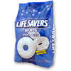 snacks: Wrigley's - Lifesavers® Pep-O-Mint, 41 oz. Bag, 6/CS