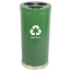 Witt Industries Three Hole Indoor Recycling Container WIT15RTGN