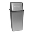 Witt Industries Wastewatcher Push-Top Receptacle WIT21HTSS