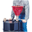 Justrite Tip-Over Protection System for Drum Funnels JUS400-08203