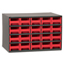Akro-Mils 20-Drawer Storage Hardware and Craft Organizer AKR19320RED