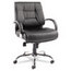 Alera Alera® Ravino Series Mid-Back Swivel/Tilt Leather Chair ALERV45LS10C